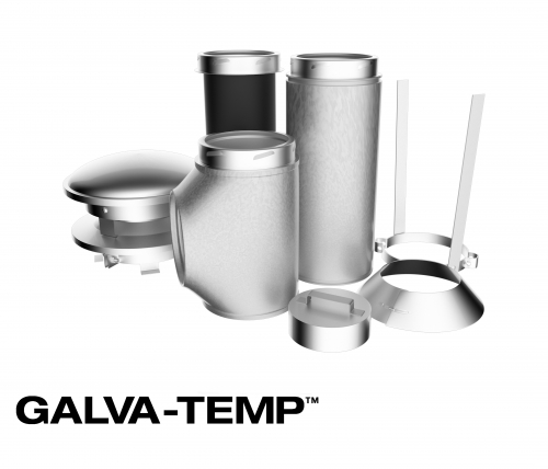 All-Fuel Chimney - Galva-Temp Product Image