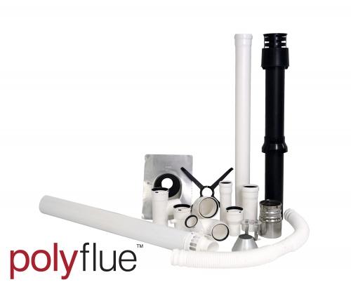 High-Efficiency Appliance Venting - Polyflue Brand Image