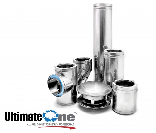 All-Fuel Chimney - UltimateONE Product Image