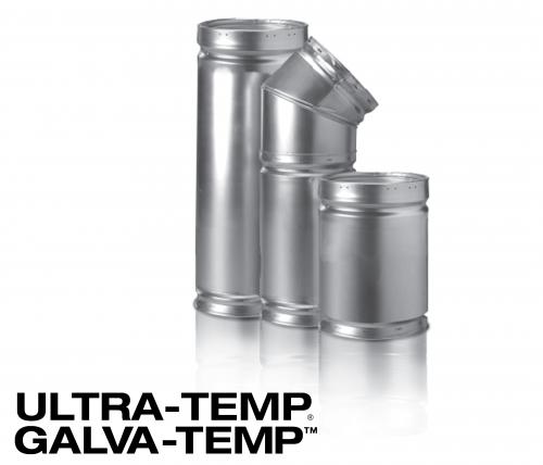 All-Fuel Chimney - Ultra-Temp/Galva-Temp Large Product Image